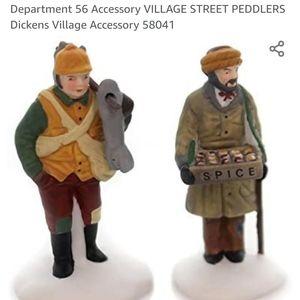 Dept 56 Village Street Peddlers